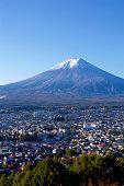 Mt. Fuji view in autumn