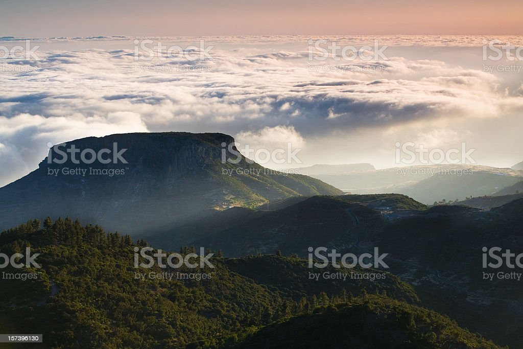 Mt. Garajonay - La Gomera royalty-free stock photo
