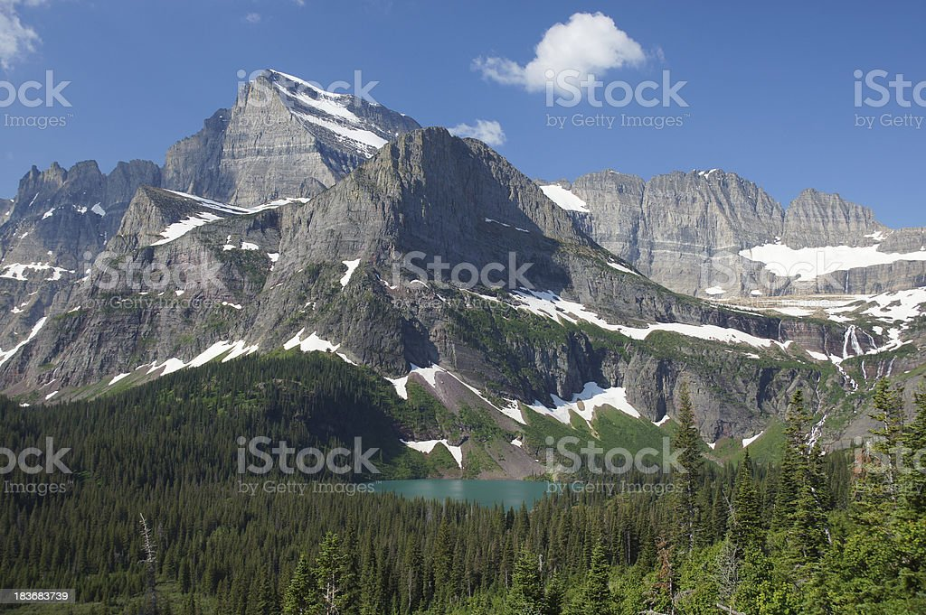 Mt. Grinnell stock photo