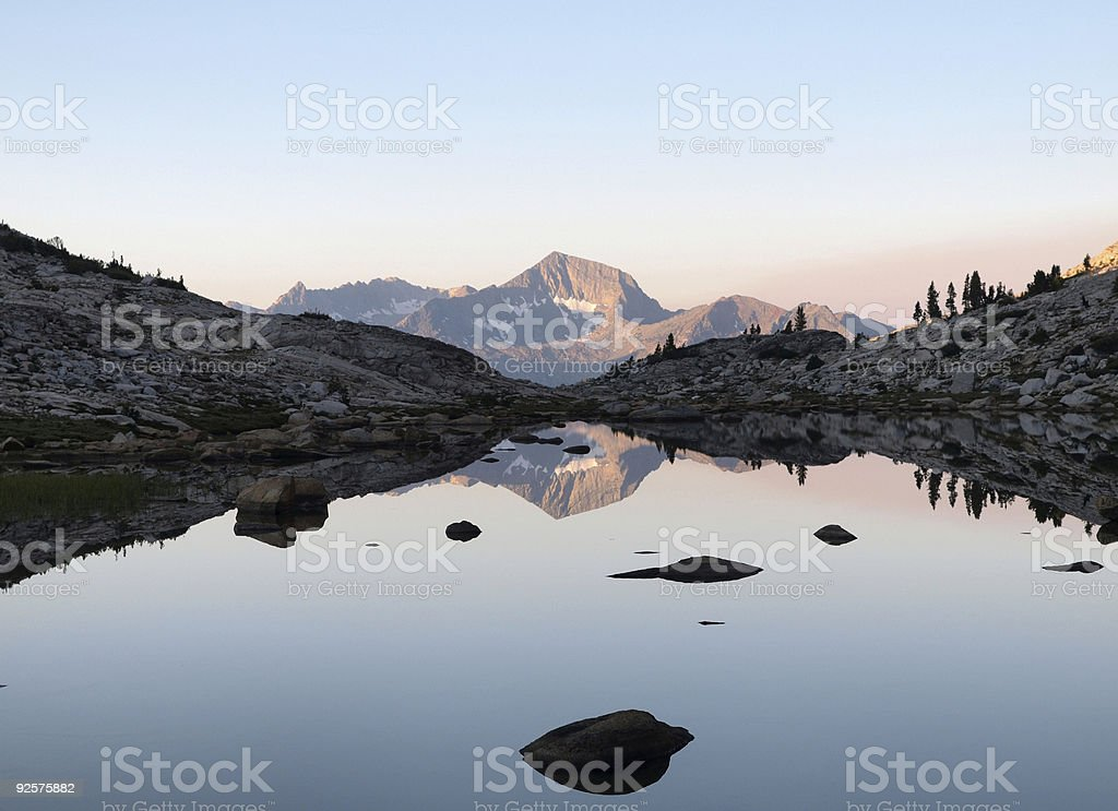 Mt Henry, 12,195 foot royalty-free stock photo