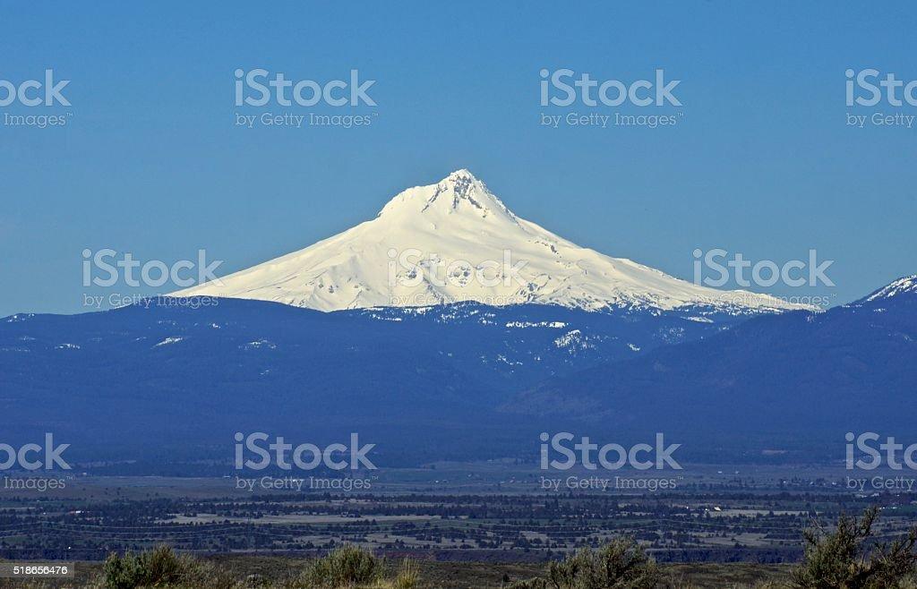 Mt. Hood East Edge stock photo