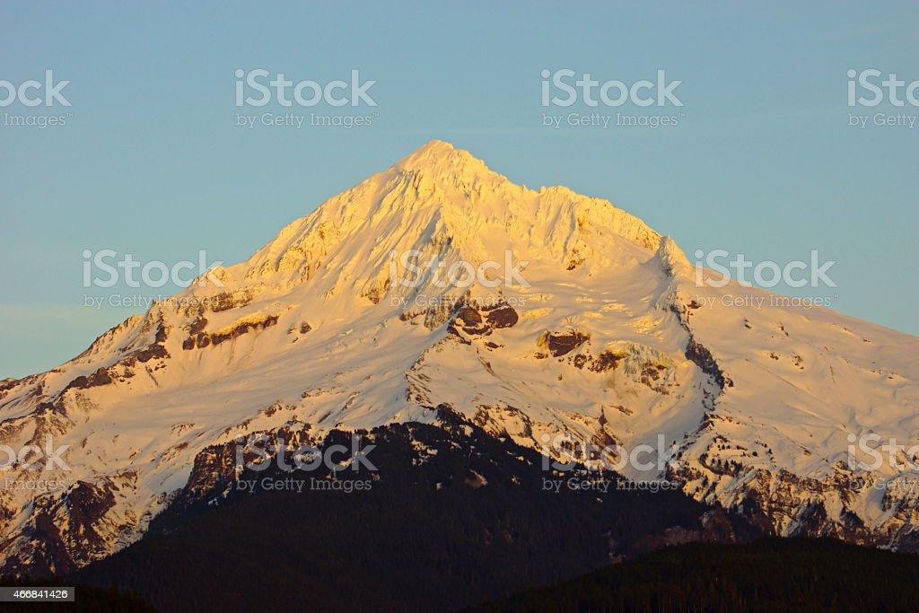Mt. Hood High Light stock photo