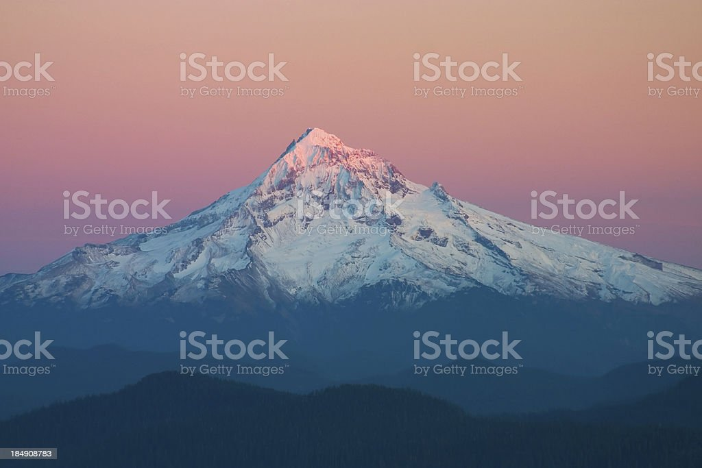 Mt Hood Oregon stock photo