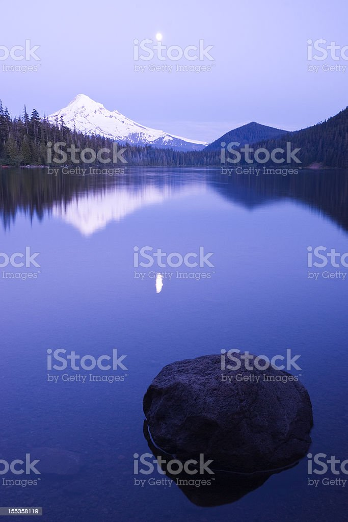 Mt Hood royalty-free stock photo