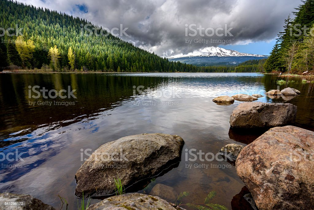Mt Hood stock photo