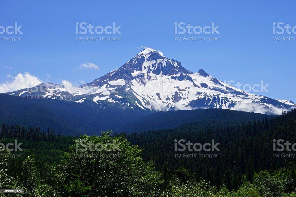 Mt. Hood Pyramid stock photo