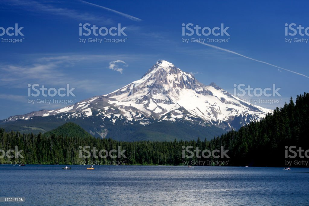 Mt. Hood View royalty-free stock photo