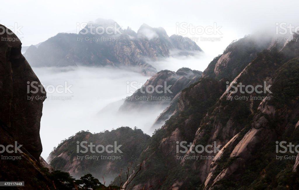 Mt. Huangshan stock photo