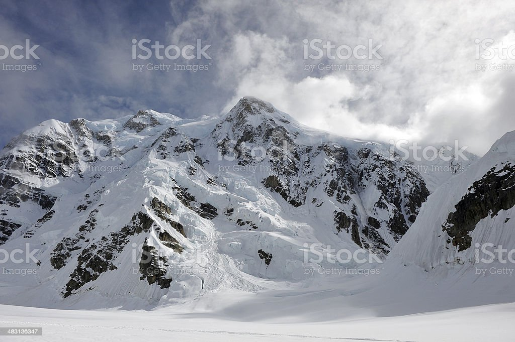 Mt. Hunter - Denali National Park stock photo
