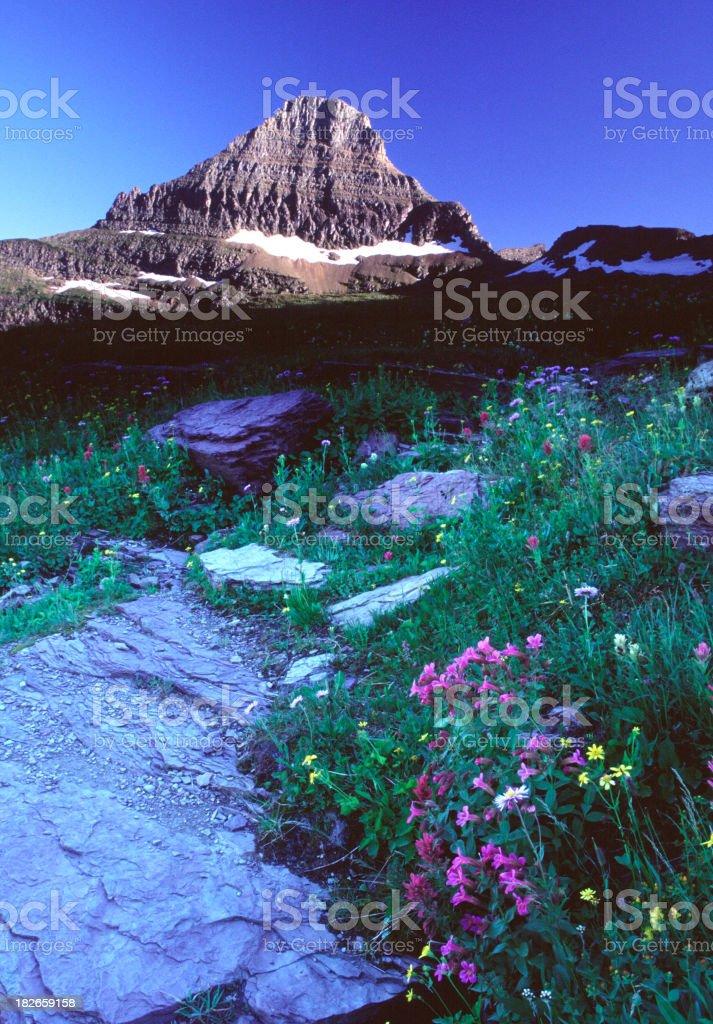 Mt. Jackson stock photo