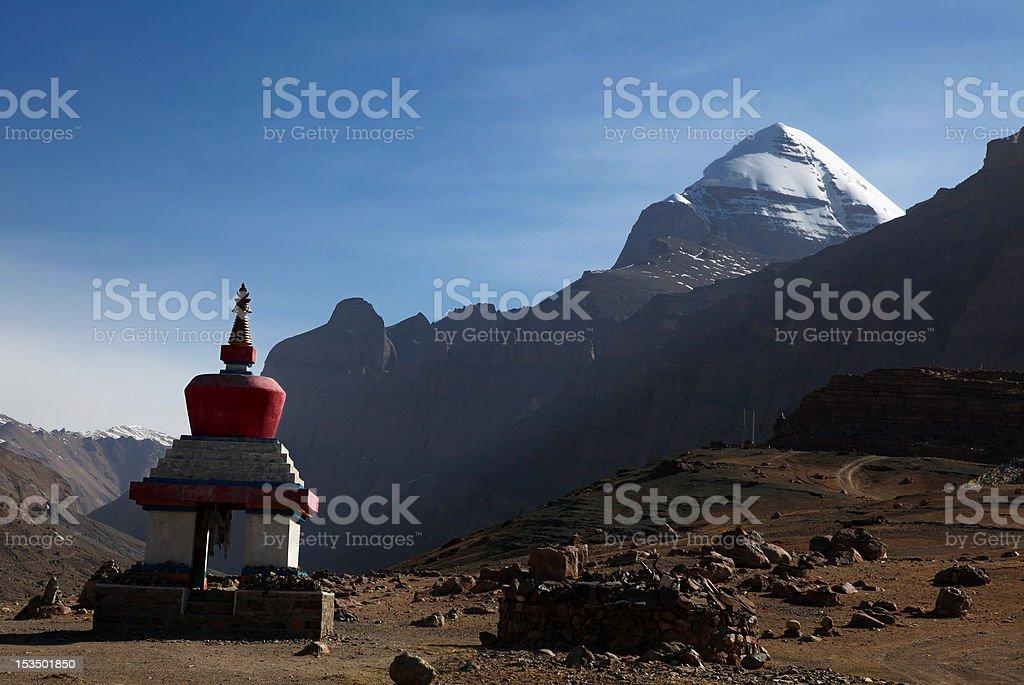 Mt. Kailash royalty-free stock photo