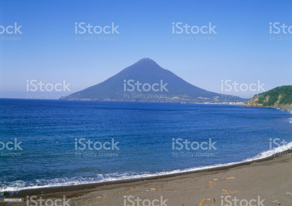 Mt. kaimondake stock photo