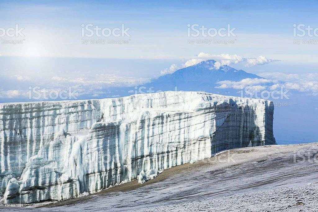 Mt. Kilimanjaro stock photo