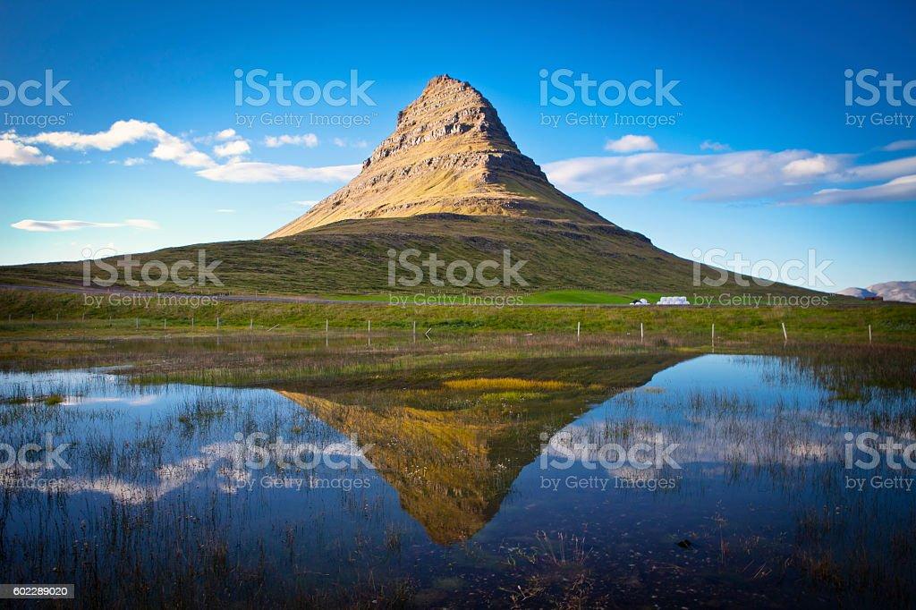 Mt. Kirkjufell stock photo