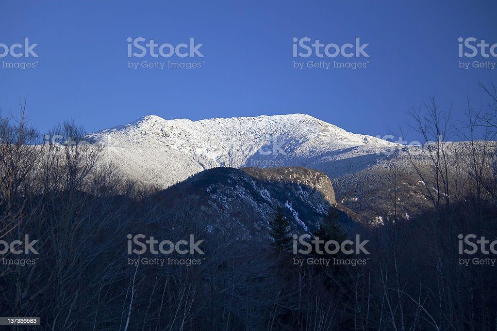 Mt. Lafayette, New Hampshire stock photo