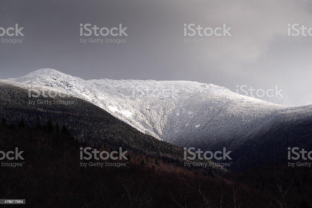 Mt. Lafayette stock photo