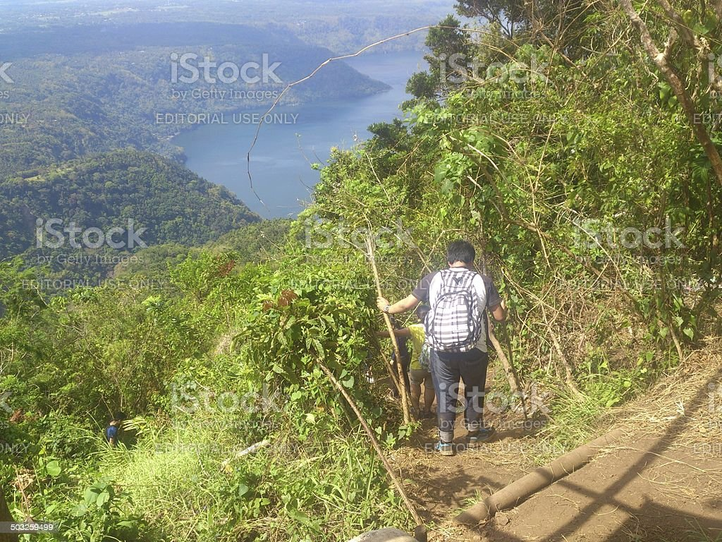 Mt. Maculot stock photo