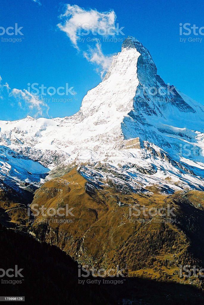 Mt. Matterhorn 01 royalty-free stock photo