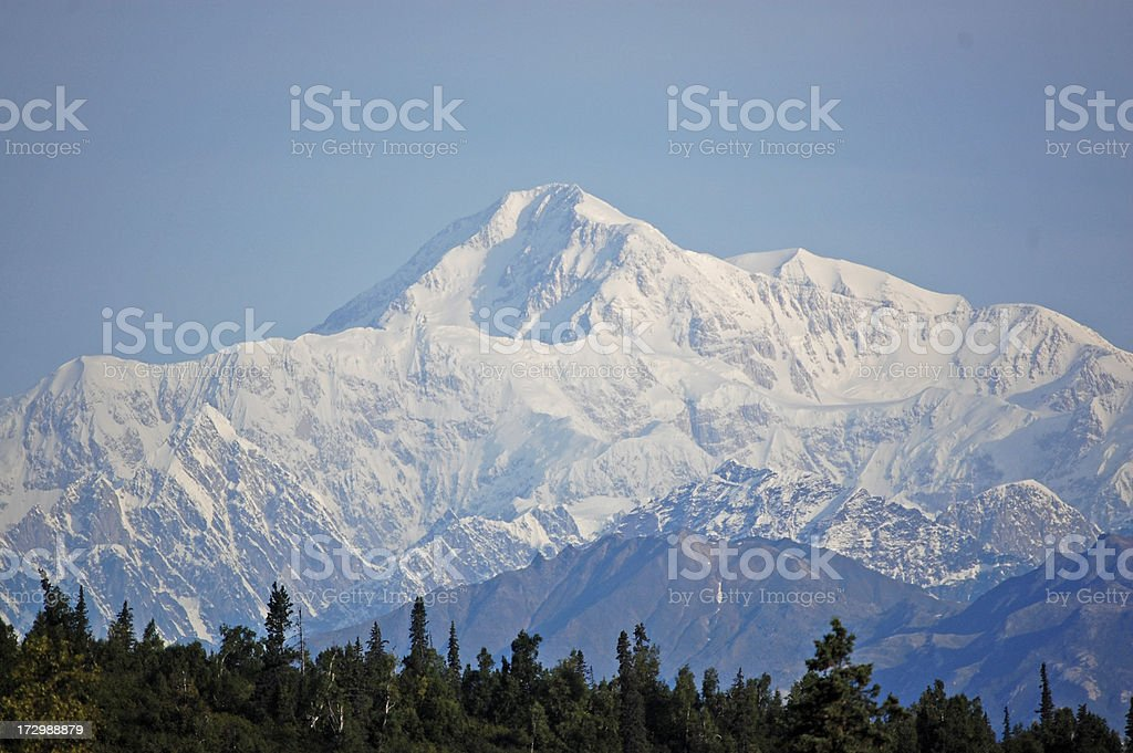 Mt. McKinley royalty-free stock photo