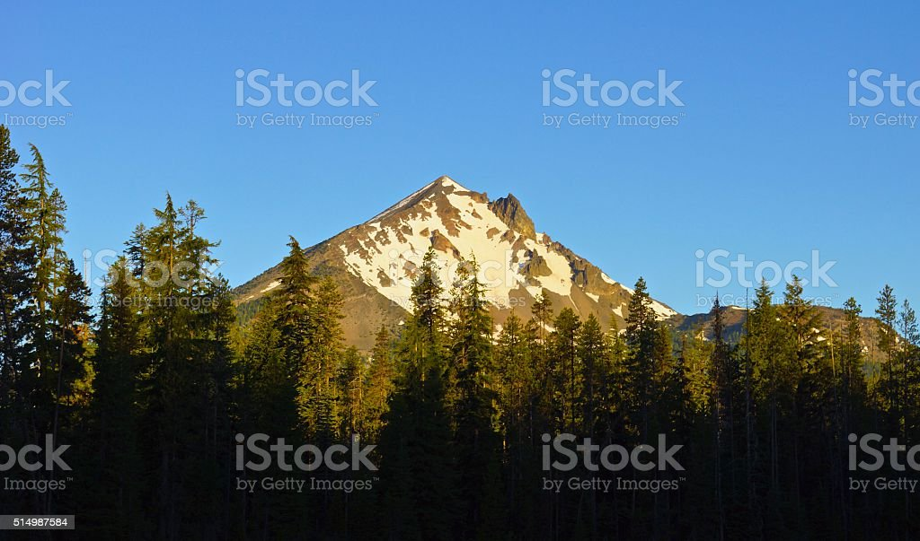 Mt. McLoughlin stock photo