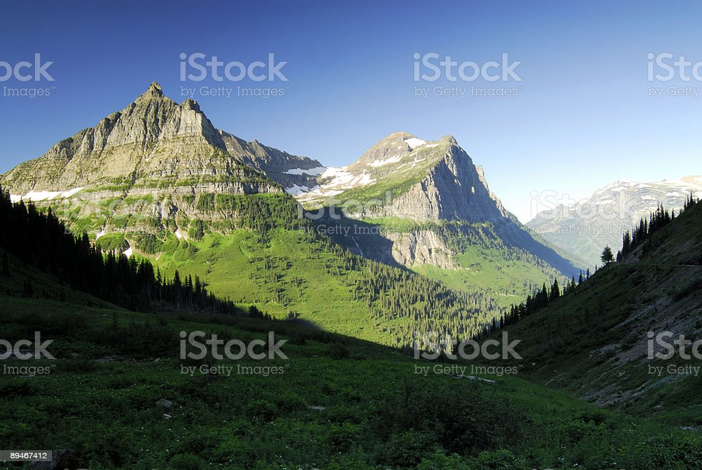 Mt Oberlin royalty-free stock photo