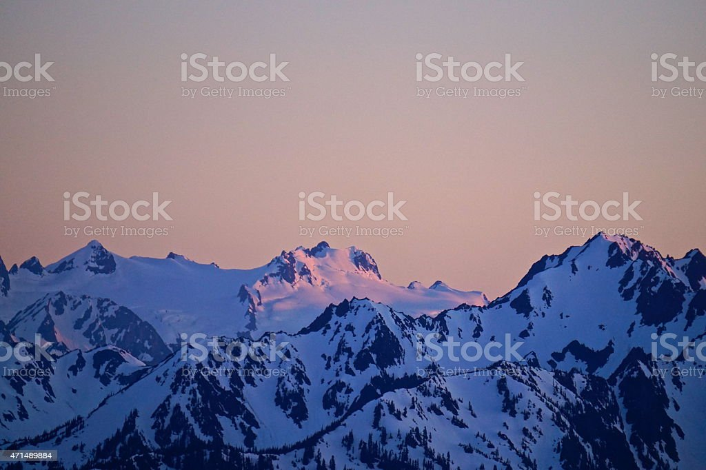 Mt. Olympus At 9 stock photo