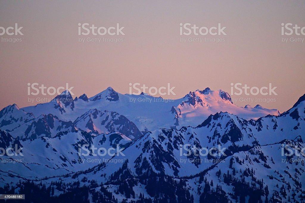 Mt. Olympus stock photo