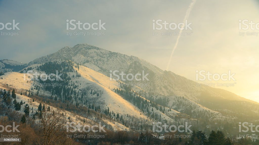 Mt Olympus stock photo