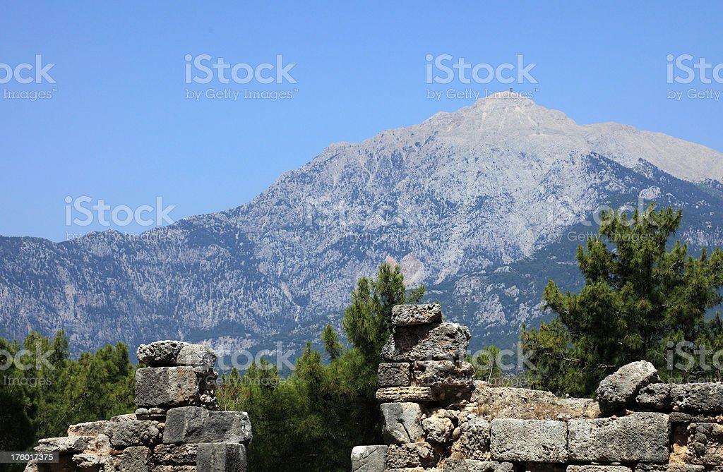 'Mt. Olympus, Taurus range, Turkey' stock photo