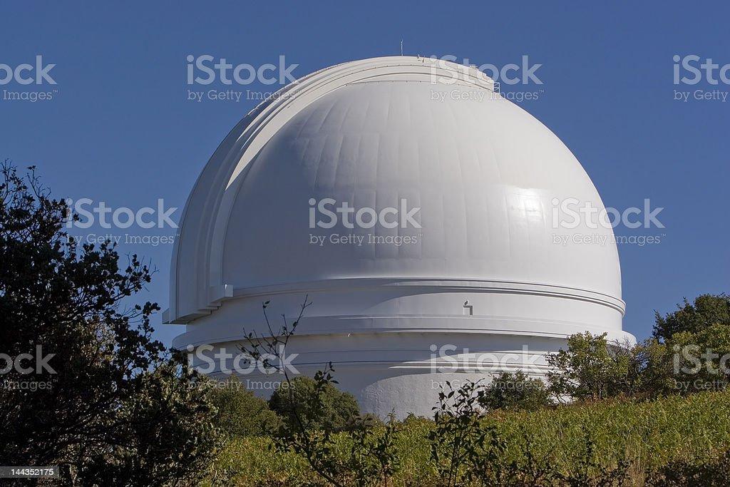Mt Palomar Observatory stock photo