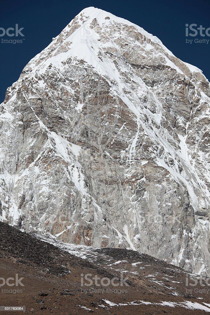 Mt. Pumori stock photo