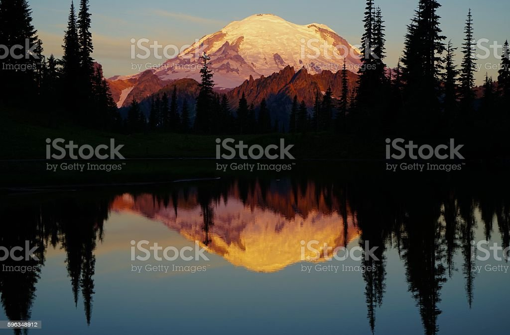 Mt. Rainier Epic stock photo