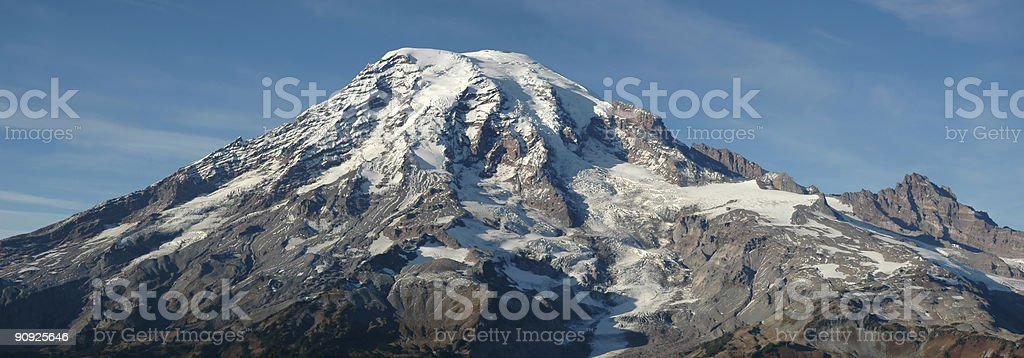 Mt. Rainier Panorama royalty-free stock photo