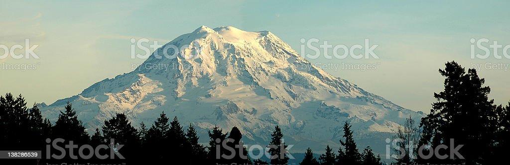 Mt Rainier royalty-free stock photo