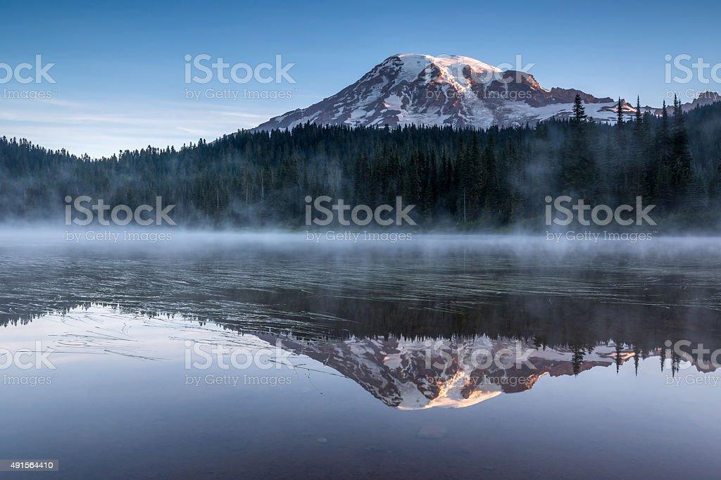 Mt. Rainier stock photo