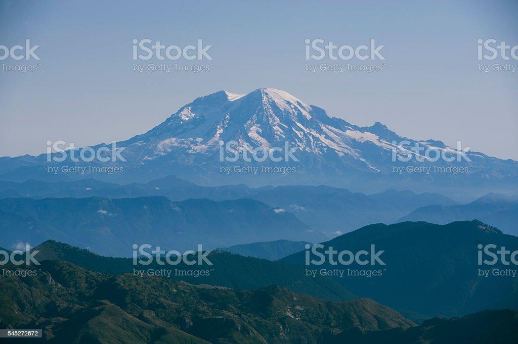 Mt, Rainier stock photo