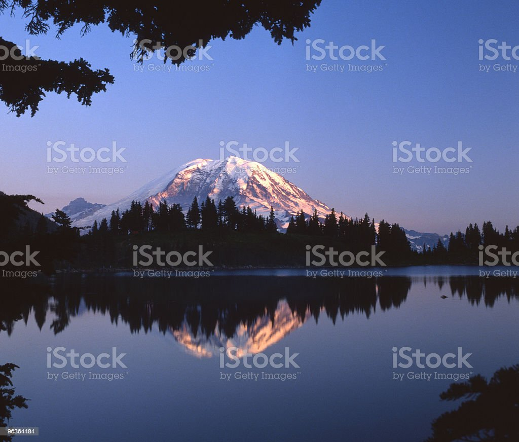 Mt Rainier royalty-free stock photo