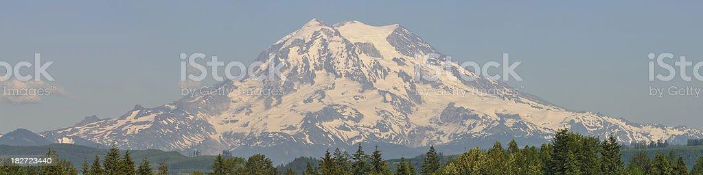 Mt. Rainier - Western View royalty-free stock photo
