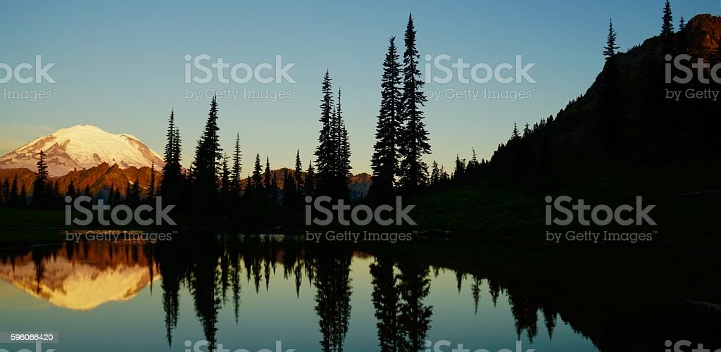 Mt. Rainier Zone stock photo