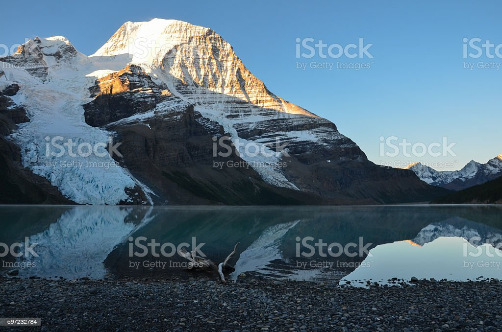 Mt Robson stock photo