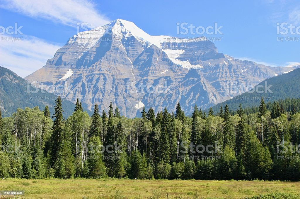 Mt. Robson stock photo