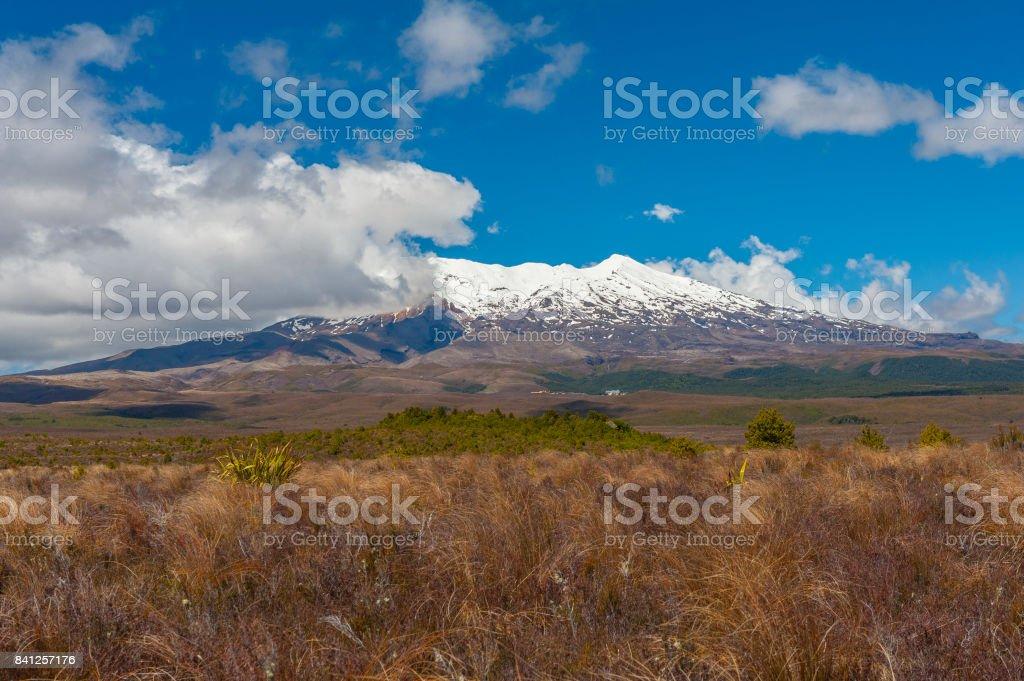 Mt. Ruapehu stock photo