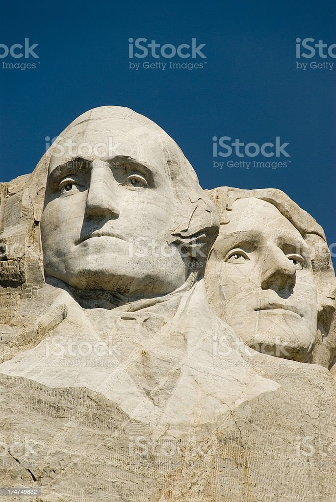 Mt Rushmore National Monument royalty-free stock photo