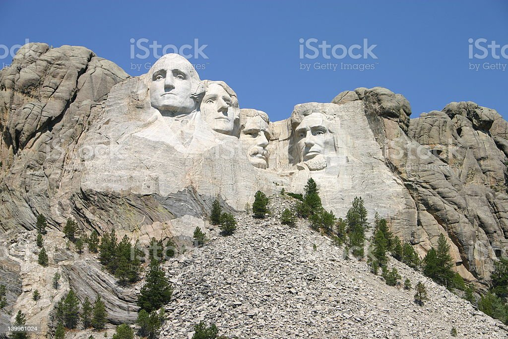 Mt. Rushmore royalty-free stock photo