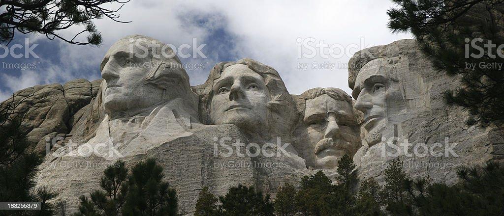 Mt. Rushmore (Large Panorama) stock photo
