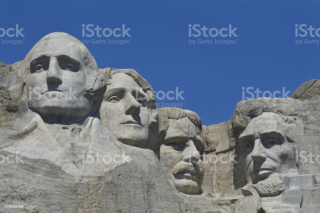 Mt. Rushmore stock photo