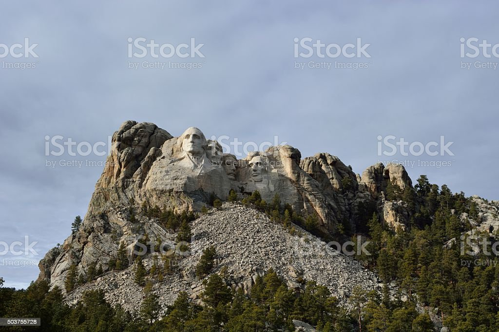 Mt. Rushmore - South Dakota stock photo
