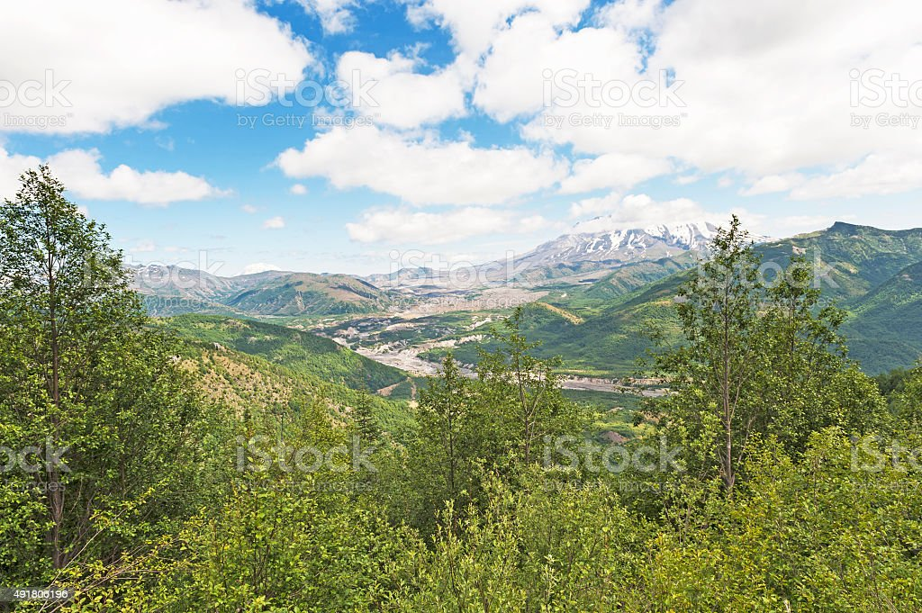 Mt Saint Helens Vacinity Views stock photo