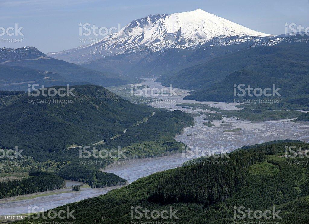 Mt SaintHelens stock photo