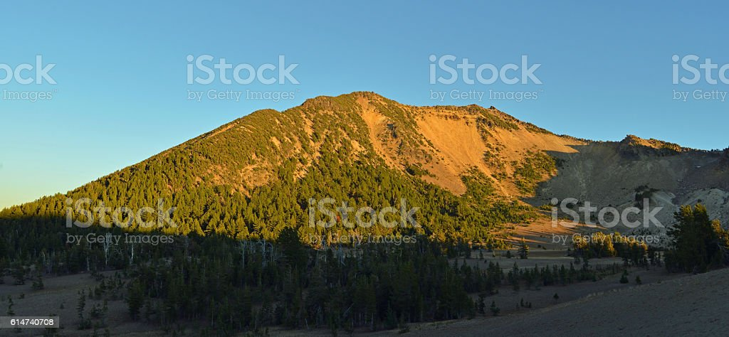 Mt Scott, Crater Lake National Park, USA stock photo